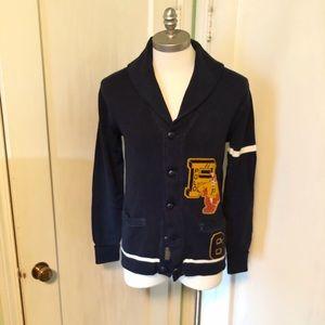 Polo Varsity Cardigan Sweater